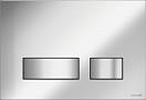 Кнопка смыва Cersanit Movi BU-MOV/Cm хром матовый