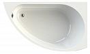 Акриловая ванна Ваннеса Бергамо 168х100 R