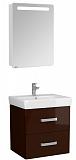 Мебель для ванной Акватон Америна 60, темно-коричневый