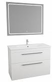 Мебель для ванной Toms Design Jolante 100 см белый лак, 2 ящика (снято с производства)