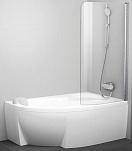 Шторка для ванны Ravak Chrome CVSK1 Rosa 160/170 R