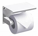 Держатель туалетной бумаги Rush Edge ED77141 с полкой, белый