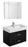 Мебель для ванной Акватон Америна 80 см, черный