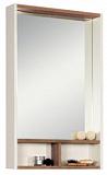 Зеркальный шкаф Акватон Йорк 55, белый/дуб сонома (снято с производства)