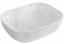 Раковина CeramaLux LuxeLine K397D9 50 см белый, с донным клапаном