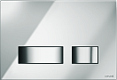 Кнопка смыва Cersanit Movi BU-MOV/Cg хром глянцевый