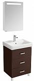 Мебель для ванной Акватон Америна 60 М, темно-коричневый