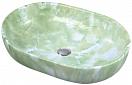 Раковина CeramaLux Stone Edition Mnc172 60 см зеленый