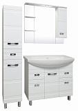Мебель для ванной Руно Турин 85 белый