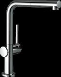 Смеситель для кухни Hansgrohe Talis 72809000, выдвижной излив, хром
