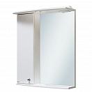 Зеркальный шкаф Руно Ирис 55 L белый