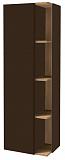 Шкаф пенал Jacob Delafon Terrace 50 см L ледяной коричневый