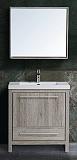 Мебель для ванной Black&White Country SK-080 80 см дуб серебристый