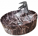 Раковина CeramaLux Stone Edition Mnc536 45 см бордовый