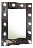 Зеркало Relisan Joy 60x80 см гримерное, с подсветкой
