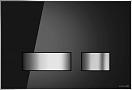 Кнопка смыва Cersanit Movi BU-MOV/Blg/Gl черный глянец