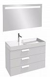Мебель для ванной Jacob Delafon Rythmik 100 см белый бриллиант