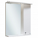 Зеркальный шкаф Руно Ирис 55 R белый