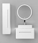 Мебель для ванной Jorno Shine 75 см, белый