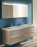 Мебель для ванной Jacob Delafon Odeon Up 140 см квебекский дуб (снято с производства)