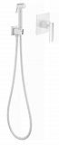 Смеситель Timo Torne 4389/00-16SM с гигиеническим душем, хром/белый