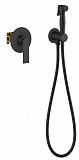 Смеситель Timo Anni 2789/03SM с гигиеническим душем, черный матовый