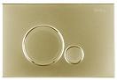 Кнопка смыва BelBagno Sfera BB018-SR-ORO золото