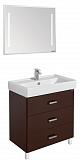Мебель для ванной Акватон Америна 80 М, темно-коричневый