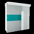 Зеркальный шкаф Toms Design Katrin 70 см 400.KA.1200 белый (снято с производства)