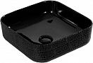 Раковина CeramaLux LuxeLine D1303H004 39 см черный