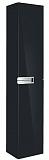 Шкаф пенал Roca Victoria Nord Black Edition 30 см черный, арт. ZRU9000095