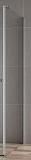 Боковая стенка Cezares Valvola VALVOLA-80-FIX-C-Cr 80x195