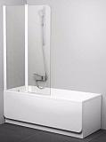 Шторка для ванны Ravak Chrome CVS2-100 L белый