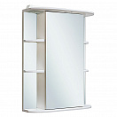 Зеркальный шкаф Руно Гиро 55 R белый