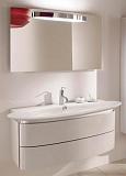 Мебель для ванной Jacob Delafon Presquile 130 см белый бриллиант (снято с производства)