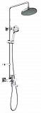 Душевая стойка Timo Beverly SX-1060/00 (2019) с подсветкой, хром