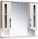 Зеркальный шкаф Руно Толедо 85 белый