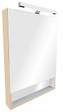 Зеркальный шкаф Roca Gap 70 см, бежевый