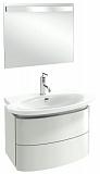 Мебель для ванной Jacob Delafon Presquile 66 см белый бриллиант (снято с производства)