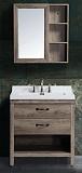 Мебель для ванной Black&White Country SK-880 80 см дуб рустикана