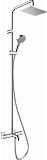 Душевая стойка Hansgrohe Vernis Shape 230 1jet 26284000, с термоcтатом