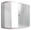 Шторка для ванны 1MarKa Catania 150x105 хром L/R