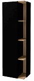 Шкаф пенал Jacob Delafon Terrace 50 см L черный лак