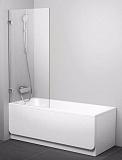 Шторка для ванны Ravak BVS1-80 хром/Transparent