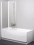 Шторка для ванны Ravak Chrome CVS2-100 L/R белый