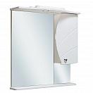 Зеркальный шкаф Руно Глория 70 R белый