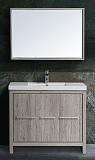 Мебель для ванной Black&White Country SK-100 100 см дуб серебристый