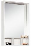 Зеркальный шкаф Акватон Йорк 60, белый/выбеленное дерево
