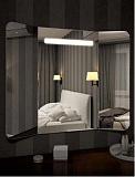 Зеркало Relisan Triple Horizontal 100x80 см, с подсветкой
