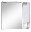 Зеркальный шкаф Руно Стиль 85 R белый